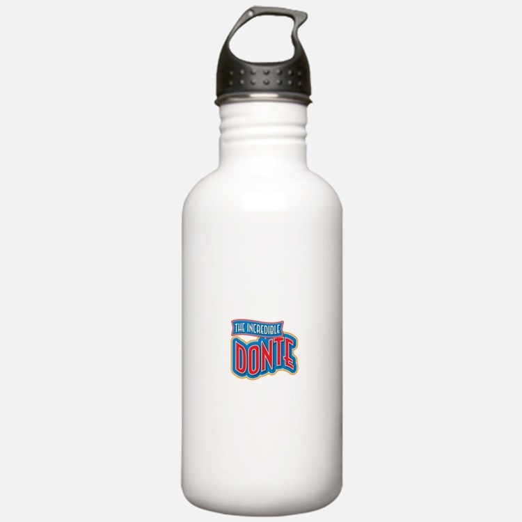The Incredible Donte Water Bottle