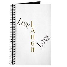 Live, Laugh, Love Journal