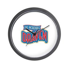 The Incredible Draven Wall Clock