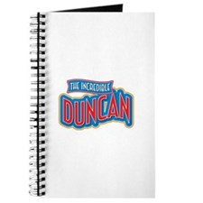 The Incredible Duncan Journal