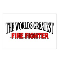 """""""The World's Greatest Fire Fighter"""" Postcards (Pac"""