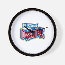 The Incredible Dwayne Wall Clock