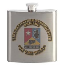 DUI - 71st Battlefield Surveillance Brigade Flask