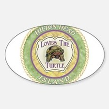 Hilton Head Turtle Decal