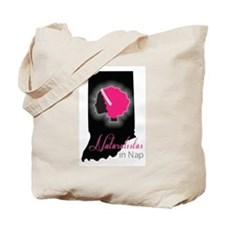 Naturalista Logo Black Tote Bag