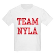 TEAM NYLA  Kids T-Shirt