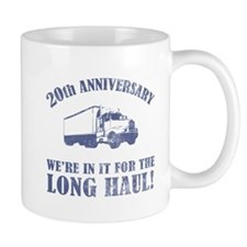 20th Anniversary Humor (Long Haul) Small Mugs