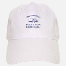 20th Anniversary Humor (Long Haul) Baseball Baseball Cap