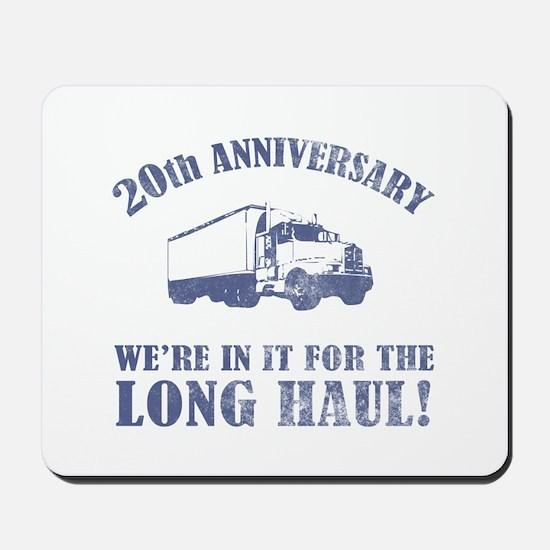 20th Anniversary Humor (Long Haul) Mousepad