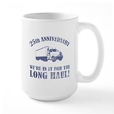 25th Anniversary Humor (Long Haul) Mug