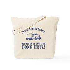 25th Anniversary Humor (Long Haul) Tote Bag