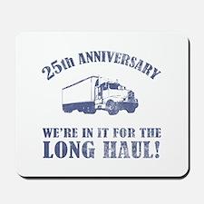 25th Anniversary Humor (Long Haul) Mousepad