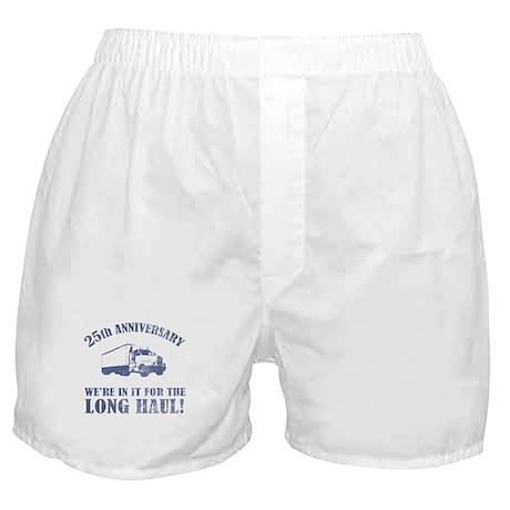 25th Anniversary Humor (Long Haul) Boxer Shorts