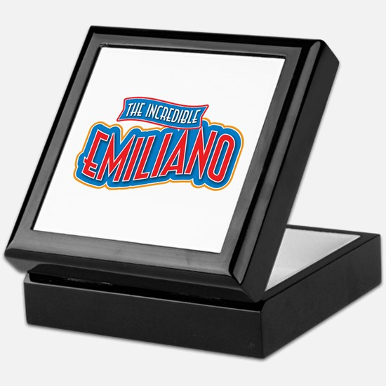 The Incredible Emiliano Keepsake Box