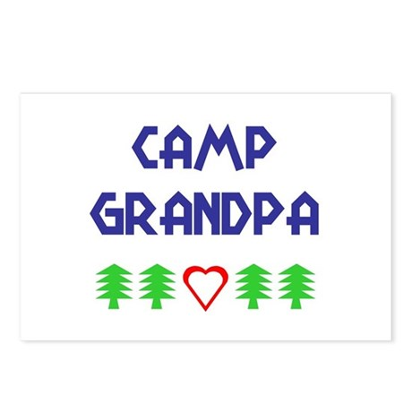 """Camp Grandpa"" Postcards (Package of 8)"