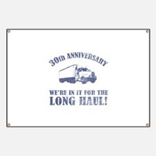 30th Anniversary Humor (Long Haul) Banner