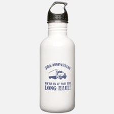 30th Anniversary Humor (Long Haul) Water Bottle