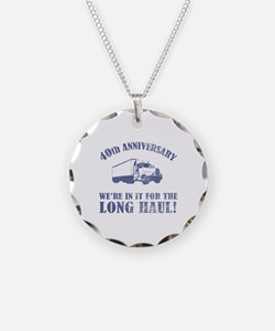40th Anniversary Humor (Long Haul) Necklace