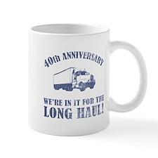 40th Anniversary Humor (Long Haul) Small Mug