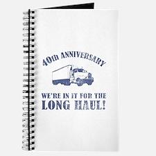 40th Anniversary Humor (Long Haul) Journal