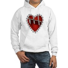 Caged, Barbed Heart Hoodie