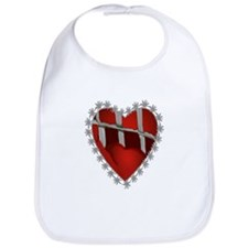Caged, Barbed Heart Bib