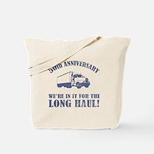 50th Anniversary Humor (Long Haul) Tote Bag