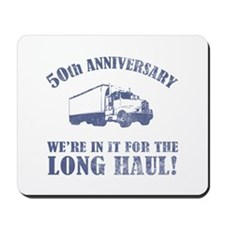 50th Anniversary Humor (Long Haul) Mousepad