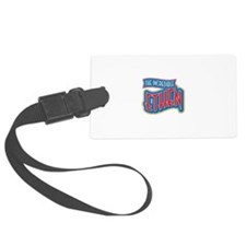 The Incredible Ethen Luggage Tag