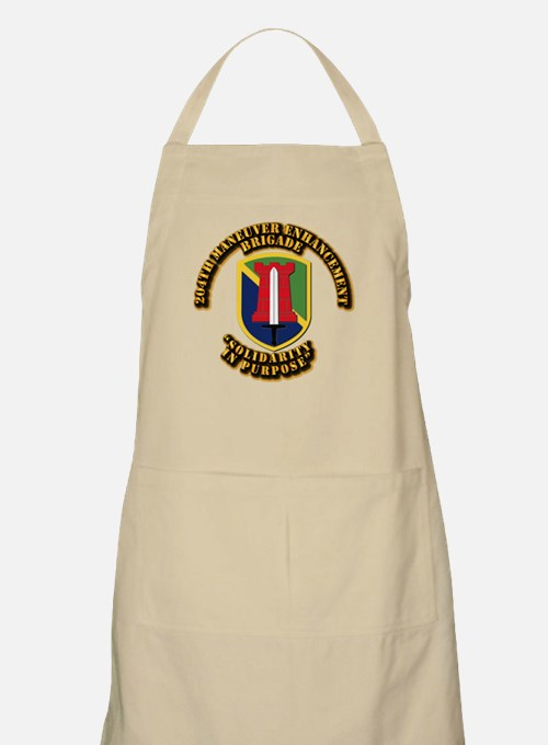 SSI - 204th Maneuver Enhancement Brigade Apron