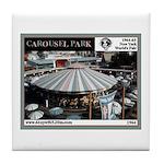 1964 World's Fair Caorusel Park Tile Coa