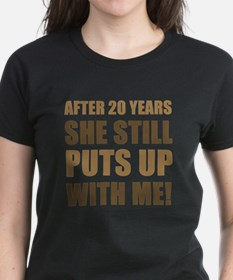20th Anniversary Humor For Men Tee