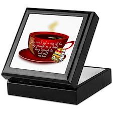Tea Quote Keepsake Box