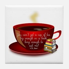 Tea Quote Tile Coaster