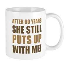 60th Anniversary Humor For Men Mug