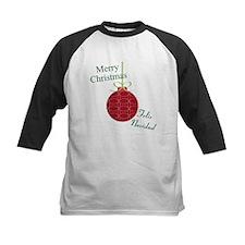 Merry Christmas Feliz Navidad Baseball Jersey