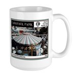 1964 World's Fair Carousel Park Large Mu