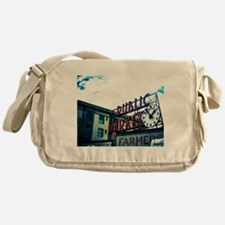 Pike Place Market Messenger Bag