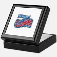 The Incredible Gianni Keepsake Box