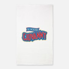 The Incredible Giovanny 3'x5' Area Rug
