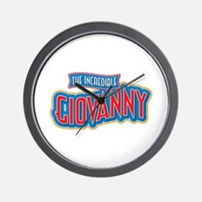 The Incredible Giovanny Wall Clock