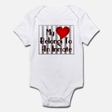 Heart Belongs to Inmate Infant Creeper
