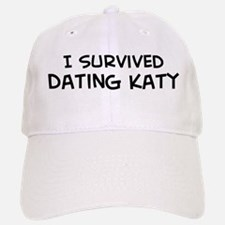 Survived Dating Katy Baseball Baseball Cap