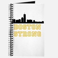 BOSTON STRONG GOLD AND BLACK Journal