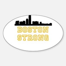 BOSTON STRONG GOLD AND BLACK Decal