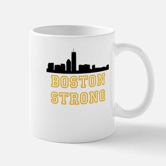 BOSTON STRONG GOLD AND BLACK Mug