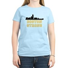 BOSTON STRONG GOLD AND BLACK T-Shirt