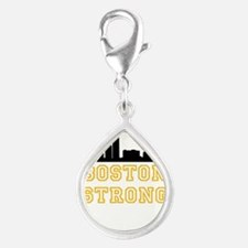 BOSTON STRONG GOLD AND BLACK Charms