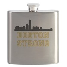 BOSTON STRONG GOLD AND BLACK Flask