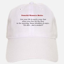 Powerful Women's Motto Baseball Baseball Cap